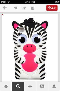 Silicone zebra tech case 4 cute and practical case чехлы