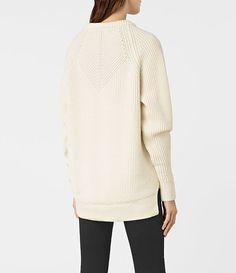 Womens Patty Sweater (Chalk White) - product_image_alt_text_5
