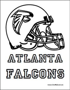 atlanta falcons coloring pages 3078 best Atlanta Falcons Crafts images on Pinterest | Falcons  atlanta falcons coloring pages