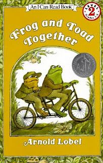 Frog and Toad books by Arnold Lobel  http://readmeastorynow.blogspot.com