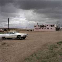 The Roadhouse Bar - Casino. Jeff Brouws, Chester, Montana, 2003