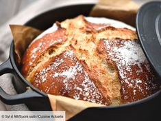 Pain en cocotte - Recettes - The Best Breakfast and Brunch Spots in the Twin Cities - Mpls. Casserole Dishes, Casserole Recipes, Bread Recipes, Beignets, Fraisier Recipe, Beste Burger, Naan Recipe, Chocolate Banana Bread, Burger Buns