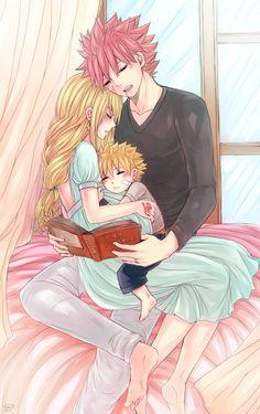 LeonS. Art Book | Perfect Family | NaLu