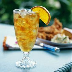 Sweet tea never tasted so good—especially for those bent on unwinding after a long workweek. Try it with a lunch of fried chicken and deviled eggs and see if you don't agree.