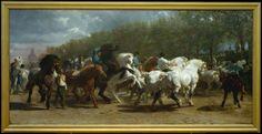 The Horse Fair Rosa Bonheur (French, Bordeaux 1822–1899 Thomery) 1852–55 Oil on canvas