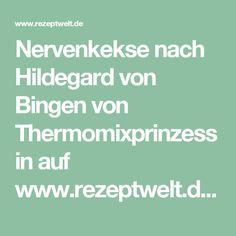 Nervenkekse nach Hildegard von Bingen von Thermomixprinzessin auf www.rezeptwelt.de, der Thermomix ® Community