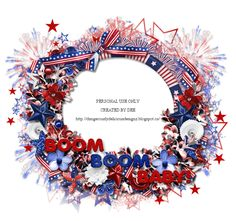 Dangerously Delicious Designz: PATRIOTIC FRAME - PU ONLY