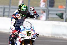 Chaz Davies consigue su primera victoria en SBK en Nürburgring