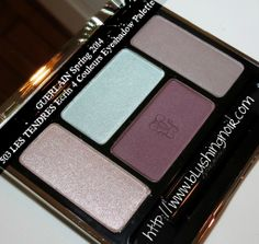 #SPRING2014 Guerlain 503 LES TENDRES Écrin 4 Couleurs Eyeshadow Palette Swatches, Review #bbloggers #guerlain #swatches #review