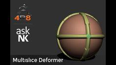 Zbrush 4R8 - MultiSlice Deformer