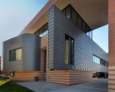 Sistemas de Fachadas | 1500 metros cuadrados de fachada ventilada de zinc | http://sistemasdefachadas.com