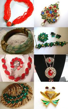 Ecochic Fab Friday Fresh Vintage Finds Treasury by Patricia Grant on Etsy--Pinned with TreasuryPin.com
