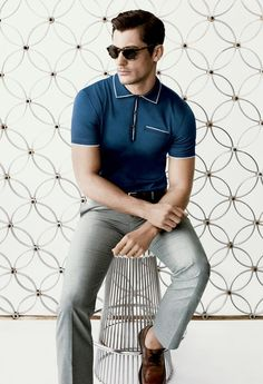 21+Sophisticated+Polo+Shirt+Looks+To+Wear+For+Any+Occassion