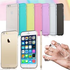 Ultra Thin Crystal Clear Soft Transparent Case Cover for New Apple iPhone 6 4.7