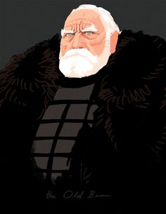 Game of Thrones - Jeor Mormont by Kris Anka *