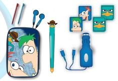Disney Phineas And Ferb 10 In 1 Gamer Kit - Nintendo Ds, 2015 Amazon Top Rated Accessory Kits #VideoGames