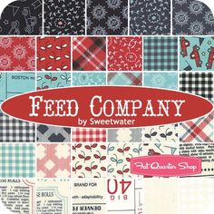 Feed Company by Sweetwater for Moda Fabrics | Fat Quarter Shop (expected shipping March 2015)