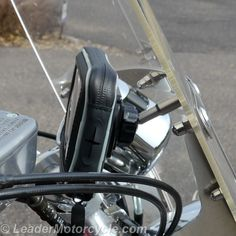 Hydra waterproof phone & GPS mount.Shown here with URBAN Windshield bracket - super-easy way to mount! Ball design for easy angle. Case has zippered edges and a rubberized port if you want to run wires out. Avail in two sizes! https://www.leadermotorcycle.com/collections/waterproof-gps-mounts