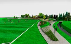 Koncepcja zagospodarowania terenów rekreacyjnych w Kobylanach