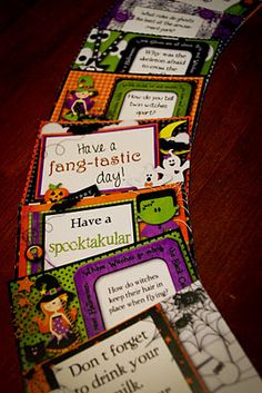 Free Uber-Cute Printable Halloween Notes and Banner