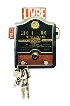 Porta chaves - Taxímetro