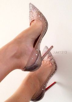 Bling Bling Crystal High Heel Shoes Sexy Pointed Toe Wedding Heels For Woman 2016 Grid Rhinestones Stiletto Heels Sexy Pumps , Pumps Stilettos, Pumps Heels, Stiletto Heels, Pointed Toe Heels, Pretty Shoes, Beautiful Shoes, Talons Sexy, Zapatos Shoes, Lace Up Heels
