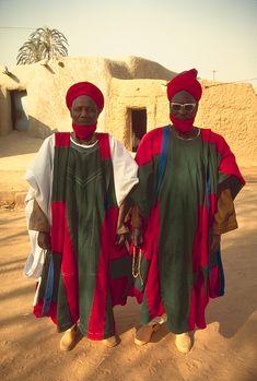 Traje tipico de Niger  Africa