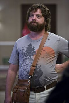 Zack Galifianakis poster on sale at theposterdepot. Poster sizes for all occasions. Zack Galifianakis Poster The Hangover for sale. Zach Galifianakis, One Man Wolf Pack, Reasons To Date Me, Las Vegas, Man Purse, Raining Men, Indiana Jones, Great Movies, Frases