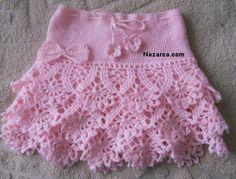 Ideas Crochet Skirt Pattern Free Kids For 2019 Baby Patterns, Crochet Patterns, Crochet Stitches, Knit Crochet, Easy Crochet, Confection Au Crochet, Baby Skirt, Skirts For Kids, Crochet Skirts