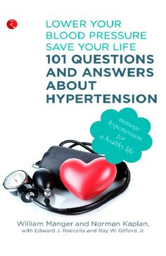 In this book, Dr. William Manger and Dr. Norman Kaplan answer the most frequently asked questions about hypertension and related illnesses. What causes hypertension? How do get it? How is it bad for you? Can it be prevented? and most importantly, what can you do to treat it?