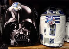 R2-D2 and Darth Vader Lunch Bags… with Special Effects! #StarWars
