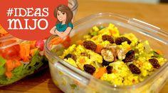 Ideas de lunch # Mijo con verduras {FitKen}