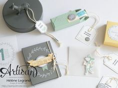 Baby memories with Happy notes & Hello baby accessory pack - Hélène LEGRAND - Stamp 2 LiNotte - Stampin'Up !
