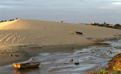 Duna da Praia de Mundaú, Trairi, Ceará