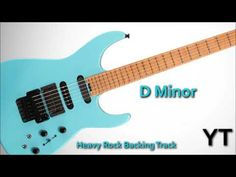 Heavy Rock Guitar Backing Track D Minor