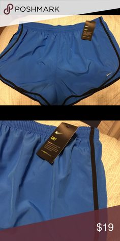 Nike Dry Plus Size Running Shorts! A periwinkle color cute Nike Dry Plus Size Shorts! Running or lounging, the shorts got you covered! Nike Shorts