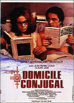 "french poster ""Domicile Conjugal"""