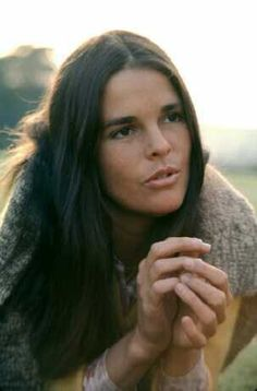 Ali Macgraw (American actress) She was first known for her role in Goodbye Columbus and then for her role in Love Story. She is also known for her roles in Convoy, Just Tell Me What You Want and Convoy with Steve McQueen whom she married shortly after making the movie.