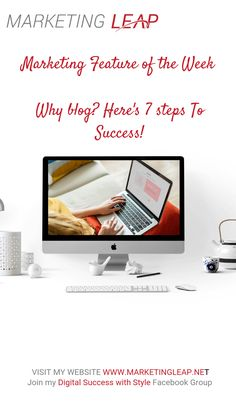 Why blog?  Blogging will build trust and respect with your prospects and customers along with your peers and competitors. Secondly creating a successful blog will help your website rank higher in the organic results (you can check out detailed optimisation steps here). A blog is the ideal place to provide free online resources so you can retain your current customers as well as giving you content that can be re-purposed over again. All of this WILL lead to more business – if you stick with… Steps To Success, Website Ranking, Respect, Blogging, Trust, Organic, Content, Marketing, Digital