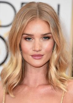 Rosie Huntington-Whiteley Hair Color Formula with Oway (Organic Way) Professional Ammonia-Free Hair Color.