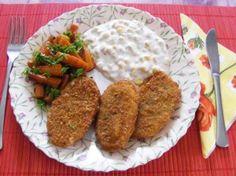 Rántott krumpli - Kész, tányéron