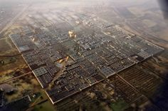 Plans for Foster's Masdar Carbon Neutral City Debut, I know they say this is Carbon Neutral but wow what an impact on the land around it.  It looks terrible.