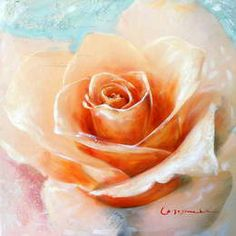 1000+ images about peintures fleurs on Pinterest  Rouge, Roses and ...