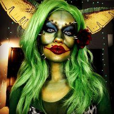 Greta the gremlin makeup tutorial trashmask