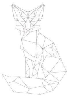 Tagged with diy, fox, woodworking, pallet, diy woodworking; Shared by DIY Geometric Pallet Wood Fox Geometric Fox, Tattoos Geometric, Geometric Drawing, Geometric Shapes, Tribal Tattoos, Xoil Tattoos, Geometric Elephant, Turtle Tattoos, Octopus Tattoos