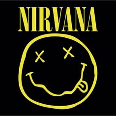 Latitude Run 'Nirvana Smiley' Framed Graphic Art Print Poster Nirvana Logo, Smiley Faces, Kurt Cobain, Poster S, Poster Prints, Art Prints, Rock Band Posters, Babe, Pochette Album