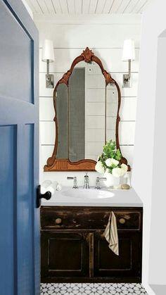 Guest bathroom using