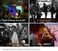 If drunk Caitlin and drunk Barry meet someday ...