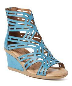 Blue  Sebaskina Sandal