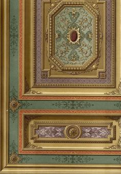 http://www.ebay.fr/itm/Chateau-Evry-Decoration-Plafond-Ouri-Architecture-Cesar-Daly-lithographie-XIXeme-/371074234184?hash=item5665bf7748